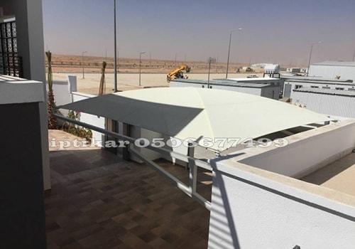 مظلات وسواتر شمال الرياض